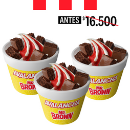 3 AVALANCHAS MR BROWN