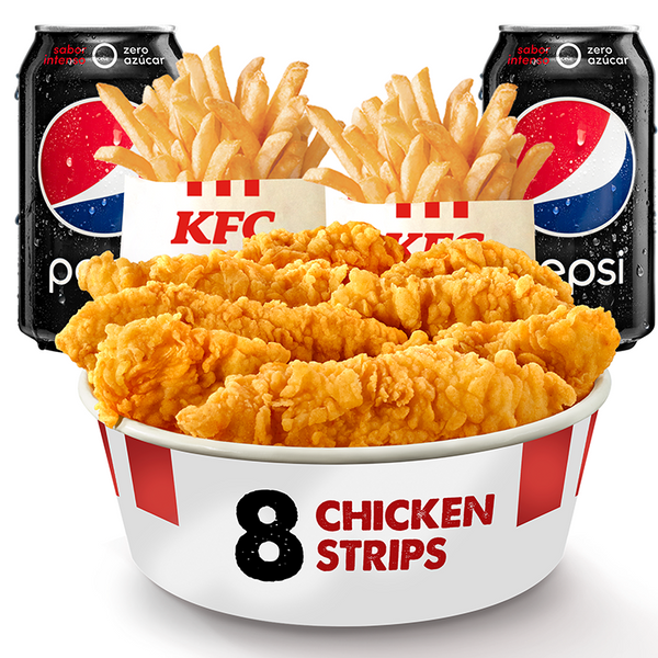 COMBO CHICKEN SHARE 8 STRIPS